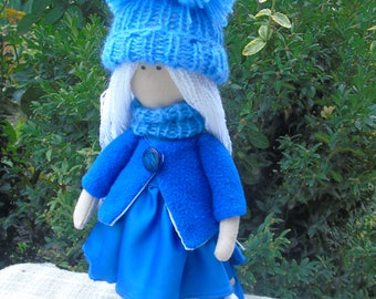 Textile doll ANNET