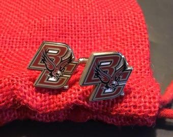 Boston College Eagels Cufflinks
