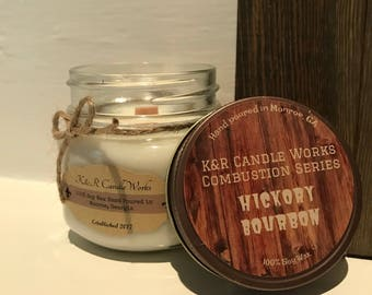 Hickory Bourbon Combustion Series Candle