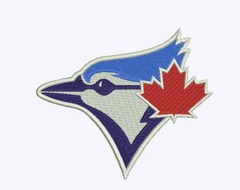 Toronto Blue Jays Embroidery design 9 Size INSTANT download machine embroidery