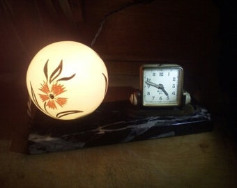 marble lamp from the 40s
