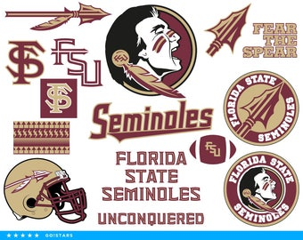 Seminoles svg – Florida State Seminoles svg – Seminoles clipart – Florida State svg – FSU svg – raster, vector files – svg pdf png dxf eps