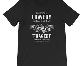Comedy & Tragedy Dark Humour T-Shirt