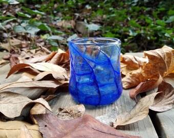 Whiskey tumbler: Royal blue