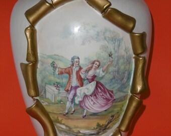 Vase faience Height 30 cm