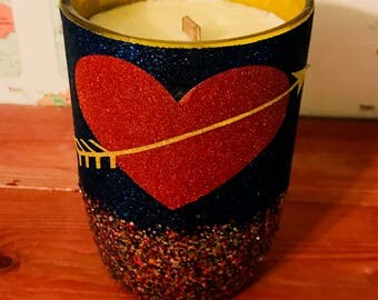 All that Sparkles ...My Heart Hand-Poured Soy Wax Candle