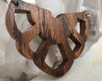 Bocote Wood Necklace - Artemis