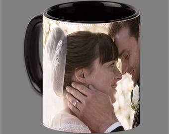 Dakota Johnson Jamie Dornan Coffee Cup Fifty Shades #0009
