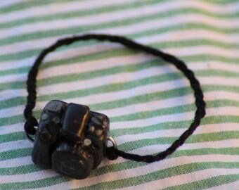 Kawaii Mini Digital Camera Zipper Polymer Charm Photo Prop