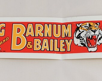 Ringling Brothers Barnam Bailey Circus World Bumper Sticker