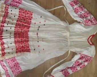Antique Romanian folk dance costume