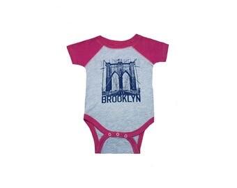 Baby Onesie Brooklyn Bridge