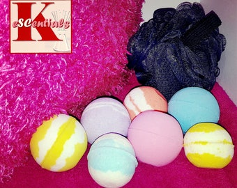 4 Pack Bath Bomb Gift Set
