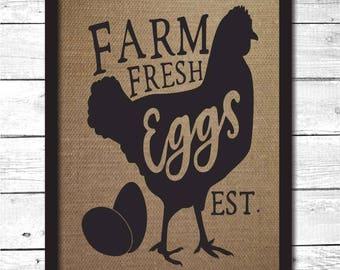 farm fresh eggs sign, farm sign, farm house decor, farm decor, farm fresh sign, farm fresh decor, farm fresh wall art, farm fresh, K12