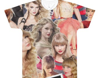 Taylor Swift All-Over Printed T-Shirt