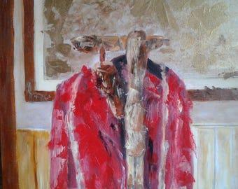 Painting hunting jacket
