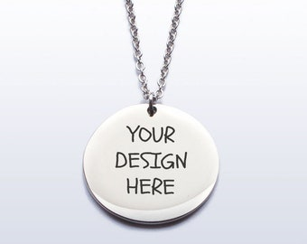 Customise it! - Design your own Stainless Steel Pendant