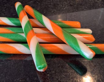 Irish Flag Candy Sticks!