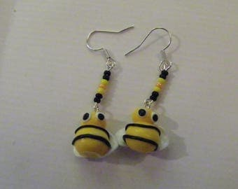Dangle earrings - Miss Bzzzz