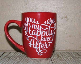 Valentines Day Coffee Cup