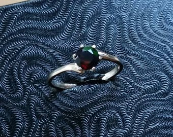 Black Opal Ring Size 8