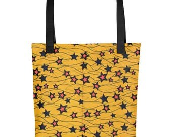 Star Yellow Tote bag