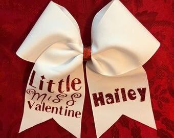 Little Miss Valentine Hair Bow