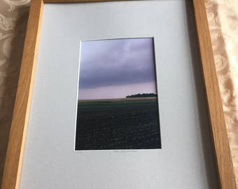 Framed Farmland Print