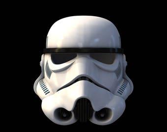Star Wars Rogue One StormTrooper TK Hemlet