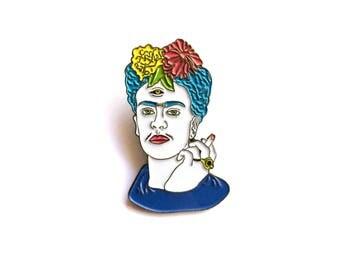 Frida Kahlo Lapel Pin