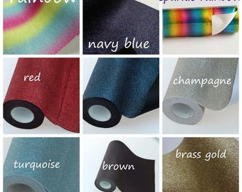 Premium Fine Glitter Fabric For Crafts and Bows