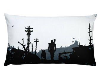 The Lone Wanderer Rectangular Pillow