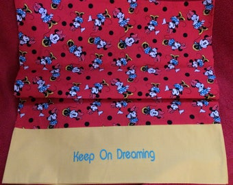 Minnie Mouse Pillow Case for Standard Pillow