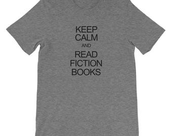 Keep Calm Read and Fiction Books