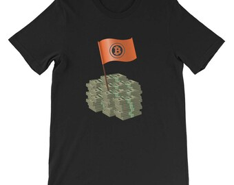 Bitcoin Cryptocurrency Blockchain Cash T-Shirt