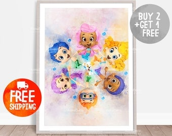Bubble guppies | Etsy