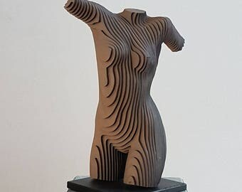 Female Torso 4 Middle sized (mirrored)