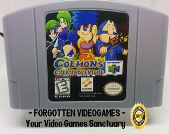 Goemon's Great Adventure - N64 Nintendo 64