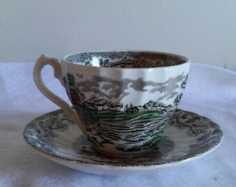 Johnson Brother's /Cup & saucer
