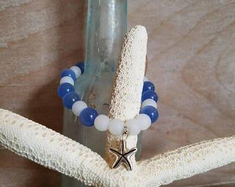 Baby blue starfish
