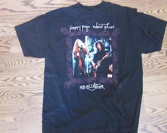 Plant and Page No Quarter 1995 World Tour T-Shirt