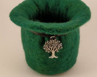 Small felted Pot / tidy