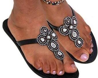 Maasai Cheupe Sandals
