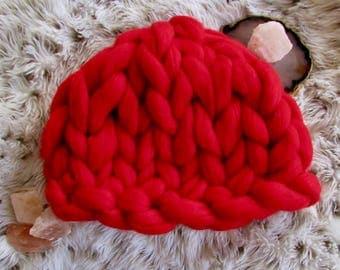 Chunky Merino Wool Hat