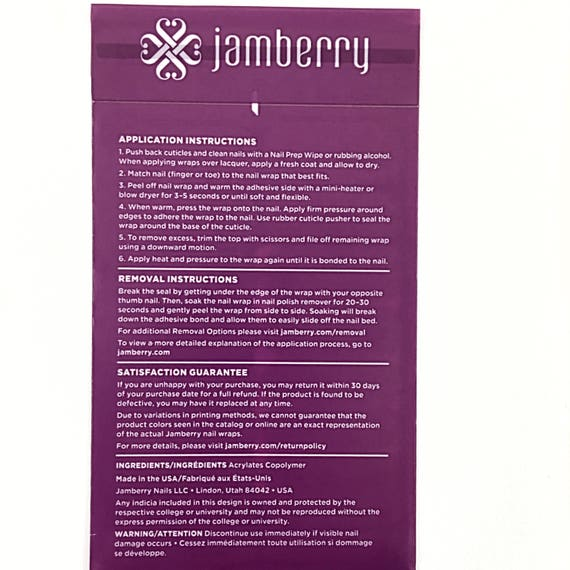 Jamberry Champagne Toast Nail Wraps, Current, Full Sheet from ...
