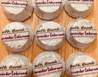 Lavender Cedarwood Bath Bomb