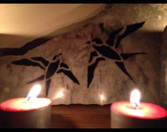 Connemara marble two birds