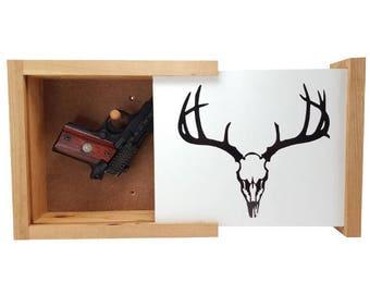 Deer Skull Concealment Shelf