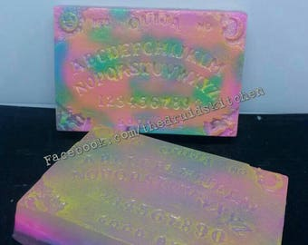 Ouija Themed Glycerine Soap with Frankincense, Sandalwood & Myrrh Oils