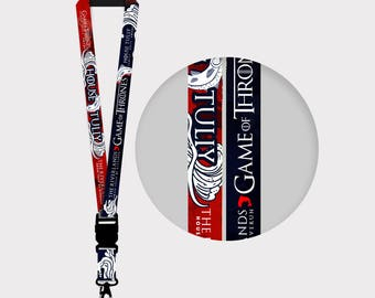 Game of Thrones  House Tully Lanyards